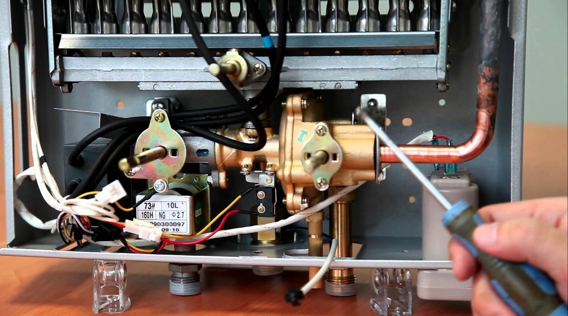 Ремонт газовых колонок своими руками