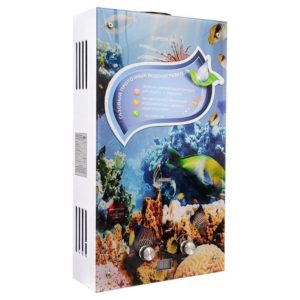 Газовая колонка Superflame SF 0120 GLASS подводный мир